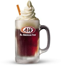 All American Food, and A & W root beer float . 2019 marks the Centennial year for Root Beer, as it's invention is credited with the onset of Prohibition, which was repealed in Restaurant Deals, Restaurant Coupons, A&w Root Beer Float, Rootbeer Float, A&w Restaurants, Floating Day, All American Food, American Dinner, Birthday Freebies