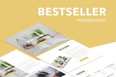 Bestseller PowerPoint Template by Jumsoft on Envato Elements