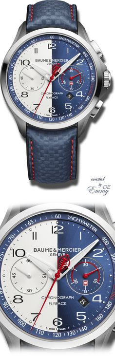 Emmy DE * Baume & Mercier Clifton Shelby Cobra Automatik 43mm