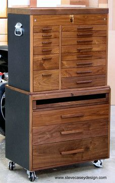 walnut tool chest - Google Search