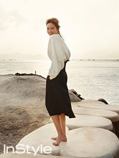 Gong Hyo Jin's Getaway To Vietnam For InStyle Korea's March 2015 Issue.