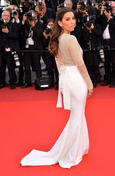 Day 1 at the Cannes Film Festival 2016 : Eva Longoria in Pamella Roland