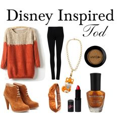 """Disney Inspired - Tod"" by disney-inspire on Polyvore...LOVE FOX AND THE HOUND."