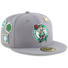 16d7d53f578 Boston Celtics New Era 2018 Draft 59FIFTY Fitted Hat – Gray