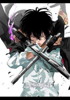 Hitman Reborn, Reborn Katekyo Hitman, Anime Guys, Manga Anime, Anime Art, Mafia, Black Anime Characters, Fiction, Anime Couples