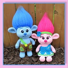 Baby Trolls Amigurumi PDF file only this is not the finished