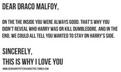 Open letter to Draco Malfoy Harry Potter Letter, Harry Potter Feels, Harry Potter Ships, Harry Potter Universal, Harry Potter Fandom, Harry Potter World, Draco Malfoy, Draco And Hermione, Tom Felton