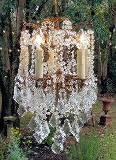 Antique Petite Vintage Crystal Chandelier, Vintage Five Light Small Chandelier, Brass and Crystal Chandelier, Home Decor, Lighting by sheriscrystals on Etsy