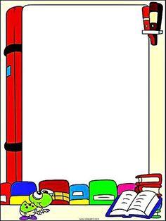 Pedagógiccos: Bordas Coloridas para mensagens e textos diversos - parte 6