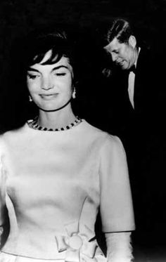 The Inaugural Gala Gown designed by Oleg Cassini and worn by Jacqueline Kennedy on January 19, 1961, the night before the swearing-in ceremony of President John F. Kennedy.
