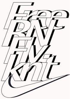 HORT Sports Graphic Design, Graphic Design Posters, Graphic Design Typography, Graphic Design Inspiration, Typography Inspiration, Lettering Design, Font Art, Typography Layout, Typography Letters