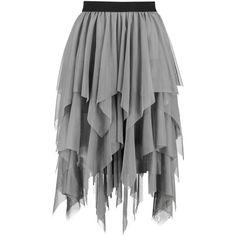 Boohoo Maya Boutique Layered Tulle Full Midi Skirt ($25) ❤ liked on Polyvore featuring skirts, pleated circle skirt, midi skirt, knee length pleated skirt, mini skirt and pleated maxi skirt