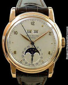 patek philippe vintage 2497 rosen ewiger kalender ca. Patek Philippe, Skeleton Watches, Luxury Watches For Men, Vintage Watches, Cool Watches, Quartz Watch, Fashion Watches, Omega, Jewelry Watches