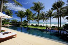 Villa Nandana (Natai Beach, #Phuket) is a luxurious #tropical residence made all the more appealing thanks to its sophisticated, modern facilities with open-plan interiors slide open onto the stunning #sea views.