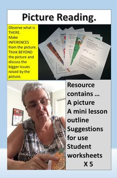 Picture Reading Strategies that work. Picture reading making inferences. Reading activities for grade. Using pictures to make inferences. Visual Literacy, Math Literacy, Literacy Centers, Reading Strategies, Reading Activities, Classroom Activities, Higher Order Thinking, Making Inferences, Critical Thinking Skills