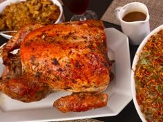 Easy Herb-rubbed Turkey and Giblet Gravy