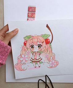 Art Drawings Sketches Simple, Kawaii Drawings, Cartoon Drawings, Cartoon Art, Manga Anime, Anime Chibi, Anime Art, Kawaii Doodles, Kawaii Art