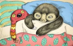 Im going to sleep... zzz.. sloth...