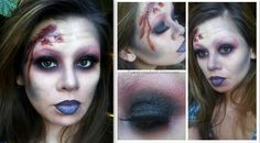 Glam Zombie makeup