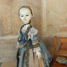 Queen Anne doll by Alena Sinel #queenannedoll