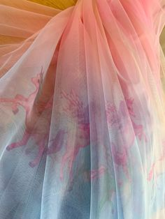 White Lace Fabric, Embroidered Lace Fabric, Pleated Fabric, Tulle Fabric, Pink Fabric, Pink Tulle, Tulle Lace, Beaded Lace, Ombre Color