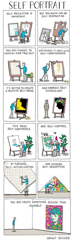Artist Grant Snider of Incidental Comics