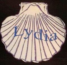 Lydia: Seller of Purple Cloth craft printable
