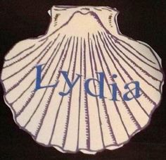 Lydia: Seller of Purple Cloth craft printable