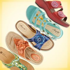 Brighten up your day with colorful shoes