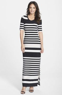 Pin for Later: Get Spring Ready With These Trusty Transitional Maxi Dresses Marc New York by Andrew Marc Stripe Jersey Maxi Dress Marc New York by Andrew Marc Stripe Jersey Maxi Dress (£89)
