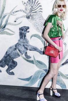 That background! Lanvin Resort 2016 - Collection - Gallery - Style.com