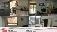 CASA PARA LA VENTA, ENVIGADO, EL DORADO. $300.000.000. Adecuada con: sala, comedor, agua caliente, biblioteca, baño cabina, calentador, terraza, zona ropas, red de gas, 4 alcobas, 3 baños, 4 closets, 1 garaje cubierto. PISO CERÁMICA. Si quieres conocer más información, visita nuestra pagina web http://www.arrendamientosenvigadosa.com/ y encuentra lo que estás buscando, pregúntanos por este medio o comunícate a nuestro PBX 444 68 68.