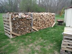 stacking firewood ideas - Google Search