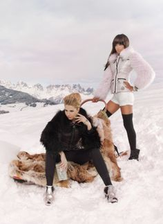 Sportalm's Alpin Century presents glamorous #Winter #Fashion for sophisticated women.  Available at Stefan Kaelin in #Aspen, Colorado.