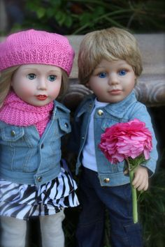 SHOP our Store for 18 inch Premium Dolls, the same size as American Girl www.harmonyclubdolls.com