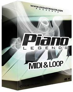 Piano Legends WAV MiDi, wav midi-patterns samples-audio, WAV, Piano, MIDI, Legends, KRock