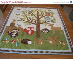 A personal favorite from my Etsy shop https://www.etsy.com/listing ... : animal baby quilt patterns - Adamdwight.com