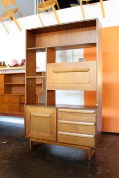 Small teak room divider