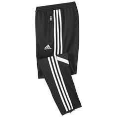 4b240d5e2b0 Black/White Condivo 14 Youth pant with zippered pockets Addidas Sweatpants,  Joggers, Soccer