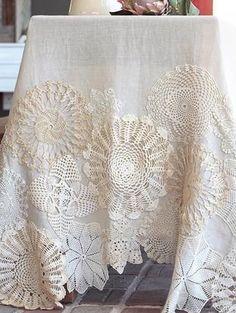 Doyleys dress tablecloth