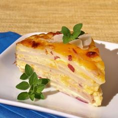 Red Potato, Ham and cheese Impossible Pie    http://feralkitchen.com/tag/impossible-pie/