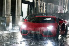 What you should expect from a trip to London, Aventadors and Rain.
