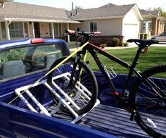 Bike Racks For Trucks Beds With Bed Covers Truckbed PVC Bike Rack