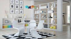 Krzesło inne niż wszystkie w kształcie litery S. Projekt krzesła powstał w latach 60. XX w.Nie posiada standardowych czterech nóg, a półkolista powierzchnia styku z podłożem daje dużą stabilność krzesła.Produkt wykonany jest z pojedynczego odlewu tworzywa, dzięki czemu jest niezwykle wytrzymałe i odporne na czynniki zewnętrzne takie jak temperaturaoraz wilgoć. Oparcie wraz z siedziskiem, dzięki lekkiej sprężystości, dają bardzo duży komfort siedzenia
