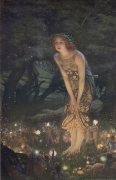 Midsummer Eve, c.1908 by Edward Robert Hughes