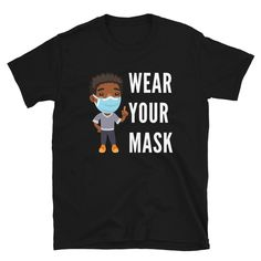 Don't forget to wear your Mask. The perfect shirt for those who are quarantined at home and want to thanks everyone who is working in hospitals and saving lives. A gift for all doctors, nurses and volunteers who are outside in this pandemic to care for, heal, treat and save lives. Stay Home and Stay Safe, wear your mask and wash your hands. #coronashirt #corona # coronatee #nurseshirt #nurseshirt #doctorshirt #quarantineshirt #pandemicshirt #quarantine #pandemic #healthcare #medicalstaff Corona Shirt, Save Life, Hospitals, Unisex, Volunteers, Stay Safe, Trending Outfits, Doctors, Cricket