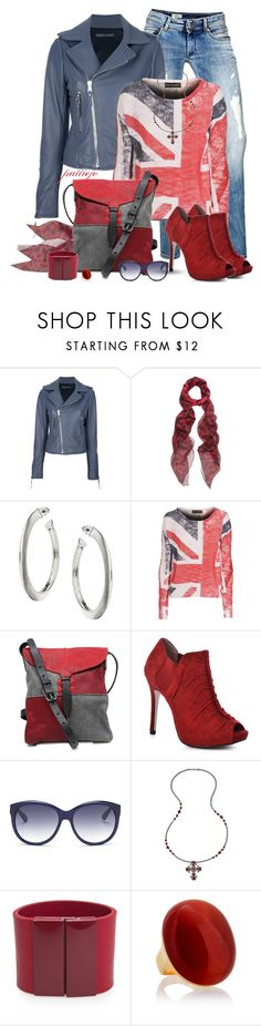 """""""Union Jack"""" by rockreborn ❤ liked on Polyvore featuring Pepe Jeans London, Balenciaga, Alexander McQueen, Wallis, Religion Clothing, Johnny Farah, BCBGeneration and MANGO"""