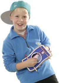 Basteln mit Kindern: Selbst gebastelte Musikinstrumente - kostenlose Bastelvorlagen zum Ausdrucken