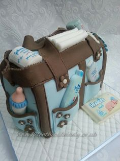 chanel baby shower cakes - Google Search