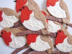 524 Best Robin Owl Dove Cardinal Bird Christmas Craft Ornaments